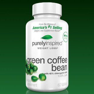 Purely Inspired Green Coffee Bean, 60 Count Health & Personal Care