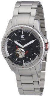 Carucci Analogue Automatic CA2182SL Gents Watch Watches