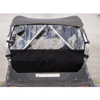Tusk UTV Rear Window POLARIS RANGER RZR 4 800 RANGER RZR 570 RANGER RZR 800 RANGER RZR S 800 RANGER RZR S 800 LE RANGER RZR XP 4 900 RANGER RZR XP 900 RANGER RZR XP 900 LE Automotive