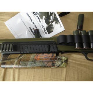 Mesa Tactical SureShell shtogun shell carrier for Mossberg 500/590 (6 Shell, 12 GA) : Gun Stock Accessories : Sports & Outdoors
