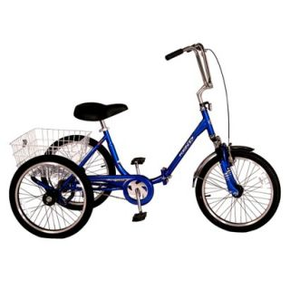 Kent Adult Westport 20 Folding Trike   Blue
