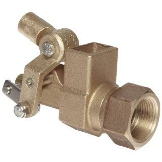 "Robert Manufacturing RF605T High Turbo Series Bob Red Brass Float Valve, 1"" NPT Female Inlet x Free�Flow Outlet, 110 gpm at 85 psi Pressure: Industrial Float Valves: Industrial & Scientific"