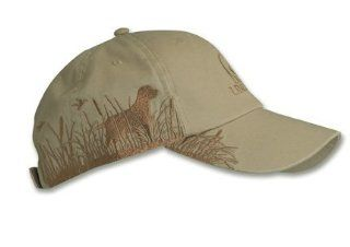 Ducks Unlimited Du590 1/Du Dog/Grass Side Logo Cap Hat Sports & Outdoors