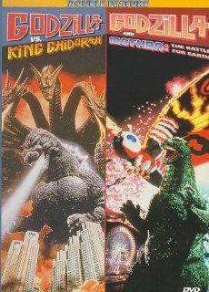 "Godzilla vs. King Ghidorah / Godzilla & Mothra: The Battle for Earth: Megumi Odaka, Akira Takarada, Takehiro Murata, Saburo Shinoda, Akiji Kobayashi, Satomi Kobayashi, Makoto Otake, Keiko Imamura, Sayaka Osawa, Kenpachiro Satsuma, Hariken ""Hurrica"