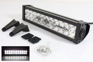 """1 X 13.5"""" 24 LED 72W Spot Roof Top/Grille/Bull Bar Light with Switch for 4x4 Jeep SUV Truck Pickup Off Road ATV/UTV/Boat/Golf Cart/Fortlift Automotive"""
