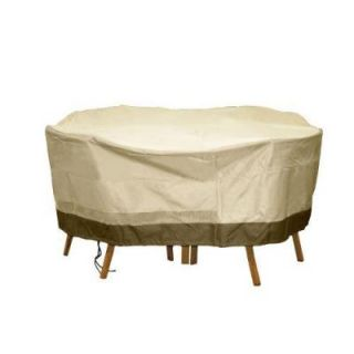 Patio Armor Polyester Deluxe Round Patio Table and Chair Set Cover SF40286