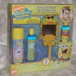 Nickelodeon SpongeBob Squarepants Sponge a rific Grooming Set   Bathroom Accessory Sets