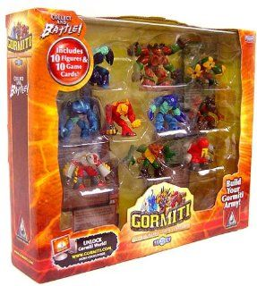 Gormiti Series 1 Mini Figure 10 Pack Assortment B (Tasarau): Toys & Games