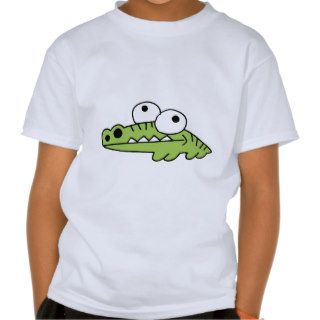 Alligator Crocodile Gator Croc Cartoon Caricature T Shirt