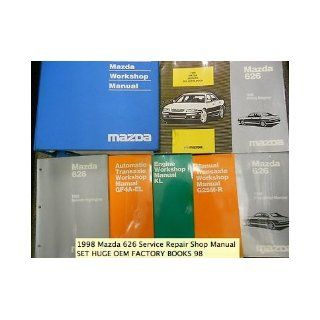 1998 Mazda 626 Service Repair Shop Manual SET HUGE OEM FACTORY BOOKS 98 mazda Books