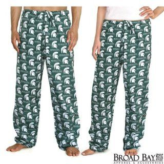 Michigan State University Scrubs Pants DRAWSTRING BOTTOMS Size XL  MSU Spartans Logo 100% Natural Cotton   NOT a CHEAP BLEND   For HIM or HER  GIFT Ideas for Man Men Woman Women Ladies Nurses MOM Mother or DAD Father  Sports Fan Pants  Sports & Outdo