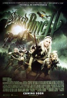 """M 105 Sucker Punch (2011) Emily Browning Vanessa Hudgens Wall Decoration Poster Size 23.5""""x35""""   Prints"""
