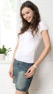 Sweet Mommy Bamboo Fiber Nursing Tops Maternity Nursing T Shirts