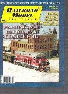 Railroad Model Craftsman Magazine (February 2012) Various Books