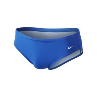Nike Poly Core Solid Mens Swim Briefs   Blue