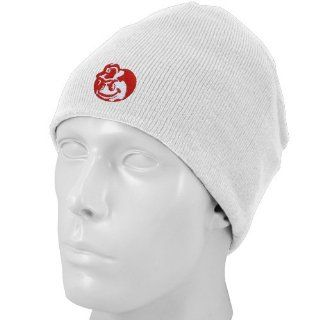 Top of the World Ohio State Buckeyes White Easy Does It Knit Beanie Cap  Basketball Equipment  Sports & Outdoors