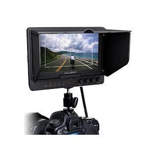 Professional LILLIPUT 7'' 665 /O/P 665GL 70NP/HO/Y/P Color TFT LCD Monitor With HDMI, YPbPr, AV Input HDMI Output / With F 970 & QM91D Battery Plate + Sun Shade Cover + Free Hot shoe Mount/ 4 NEW Function: Peaking Filter, False Color Filter, Ze