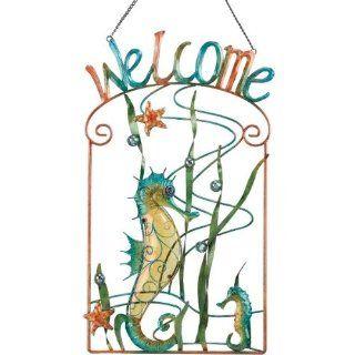 Welcome Sign Seahorse   Regal Art #10036  Yard Signs  Patio, Lawn & Garden