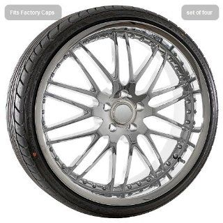 "22"" inch Chrome deep dish wheels rims tires fit BMW 6 7 series 645 m6 745 750: Automotive"