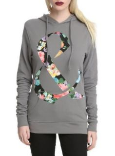Of Mice & Men Floral Ampersand Girls Pullover Hoodie Size : X Large: Clothing