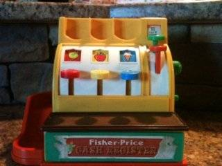 Fisher Price Vintage Cash Register: Everything Else
