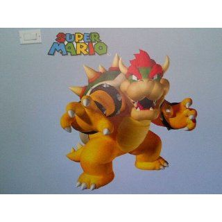RoomMates 684SLM Bowser Peel and Stick Giant Wall Decal   Wall Decor Stickers