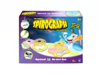 The Original Spirograph New Generation Spirograph Optical 3D Artist Set: Toys & Games
