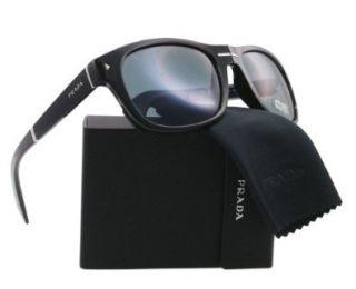 Prada PR13OS Folding Sunglasses 1AB/0A9 Black (Gray Lens) 58mm