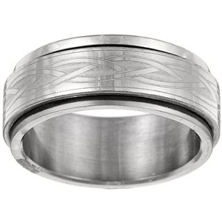 Trendbox Jewelry Celtic Tribal Spinner Band Ring