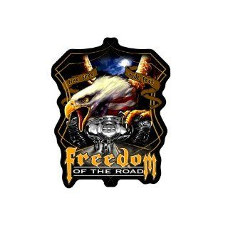 "Hot Leathers Midnight Eagle Biker Patch (9"" Width x 11"" Height): Automotive"