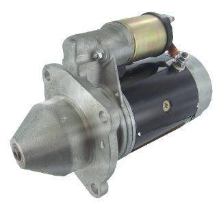 New Starter for Allis Chalmers Tractor ED 40 Case David Brown Backhow Loader 580F Construction King Tractor 1290 1294 1390 1394 1490 1494 Lister Petter Tractor PH SR4 St1 ST2 ST3 Massey Ferguson Tractor FE 35 MF 702 Automotive