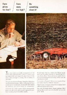 1966 Ad International Harvester Disk Harrow Farmall 706 Tractor Farm Agriculture   Original Print Ad   Farmall Products