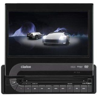 Clarion VZ709 7 Inch Single DIN Multimedia Station with Touch Panel Control and USB Port : Vehicle Dvd Players : Car Electronics