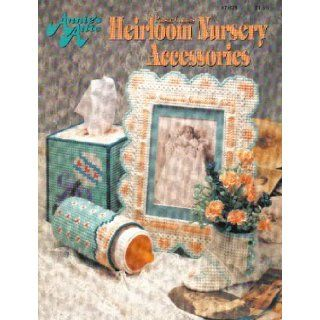 Annie's Attic Plastic Canvas Heirloom Nursery Accessories: Annie Potter: Books