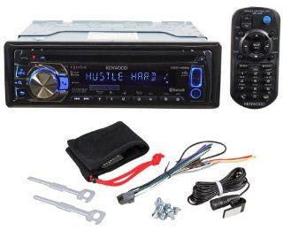 Brand New Kenwood KDC X696 Single Din In Dash Car Stereo CD Receiver with Kenwood's Music Control Application for Android Phones