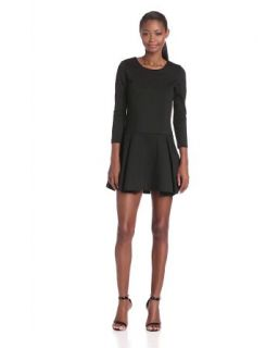 BCBGeneration Women's Flare Long Sleeve Dress at  Women�s Clothing store