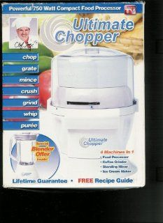 As Seen on Tv Chef Tony Ultimate Chopper Full Size Food Processors Kitchen & Dining