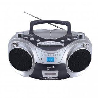 Supersonic Supersonic Sc 709 Portable /cd Player With Cassette Recorder, Am/fm Radio & Usb Input  Boomboxes   Players & Accessories