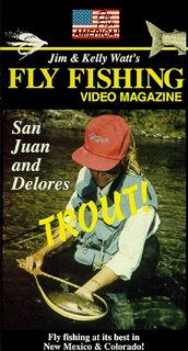 Fly Fishing Video Magazine Vol.21 San Juan & Delores Trout [VHS]: Kelly Watt, Banks Brown, Jim Watt: Movies & TV