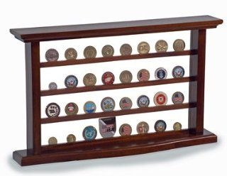 Display Case for Military Challenge Coins   Box Holder   Display Stands