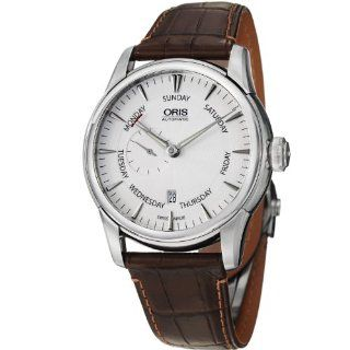 Oris Artelier Automatic Small Second Pointer Day Stainless Steel Mens Watch 745 7666 4051LS Oris Watches