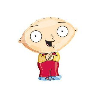 "Stewie Griffin Family Guy 27"" Birthday Party Mylar Foil Balloon: Toys & Games"
