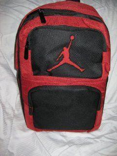 Jordan Nike Backpack/bookbag/school Bag/mochila/laptop Bag 9A1440 344 Black RED Insulated Pocket Computers & Accessories