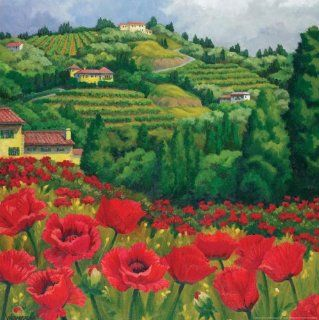 Tuscan Reds 750 Piece Jigsaw Puzzle Toys & Games