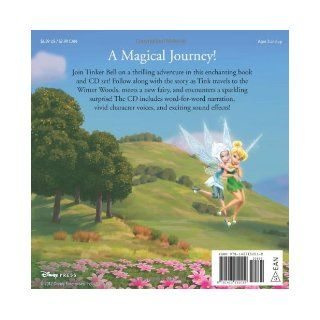 Disney Fairies The Secret of the Wings Read Along Storybook and CD: Disney Book Group, Disney Storybook Art Team: 9781423152019: Books