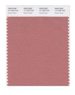 PANTONE SMART 17 1524X Color Swatch Card, Desert Sand   Wall Decor Stickers