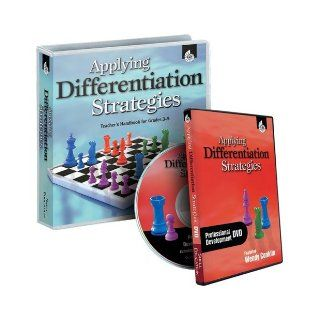 Applying Differentiation Strategies Professional Development Set: Grades 3 5: Wendy Conklin, M.A. Ed.: 9781425806187: Books