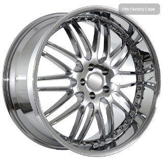 22 inch BMW Chrome Deep Dish Mesh Rims fit 6 7 Series: Automotive