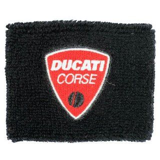 Ducati Corse Black Brake Reservoir Sock Cover Fits 748, 749, 848, 848 Evo, 916, 996, 998, 999, 1098, 1198, ST2, ST3, ST4, Streetfighter, Hypermotard, Multistrada, Monster 1100: Automotive