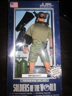 Soldiers of the World Vietnam War 1961 1975 Navy Seal U.D.T Toys & Games